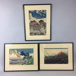 Six Woodblock Prints