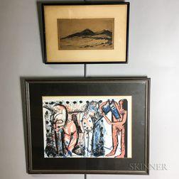 Six Framed Works
