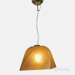 Alfred Barbini Ceiling Light