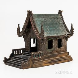 Wood Spirit House