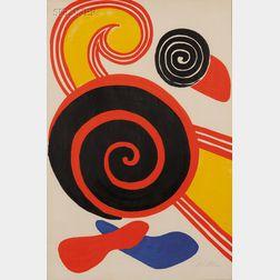 Alexander Calder (American, 1898-1976)      Untitled (Spirals).
