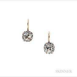 Diamond Earrings.