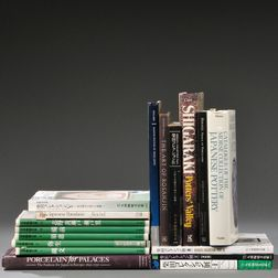 Sixteen Books on Japanese Ceramics