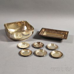 Eight Silver Items
