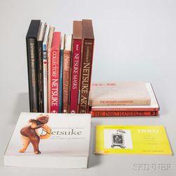 Fourteen Books on Japanese Inro and Netsuke