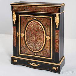 Napoleon III Ebonized Boulle-style Cabinet