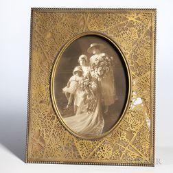Large Tiffany Studios Grapevine Frame