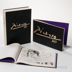 Pablo Picasso (Spanish, 1881-1973) Book