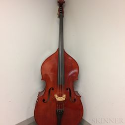 Three-quarter Size Student Contrabass, West Coast String Instruments, 2012