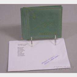 1964/1965 Season Boston Celtics Autograph Book