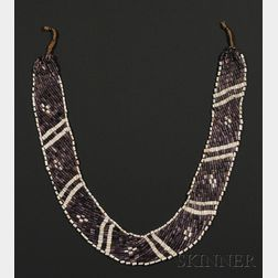 Rare Wampum Shell Necklace