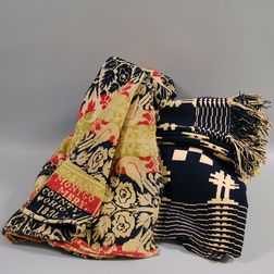 Two Handwoven Coverlets