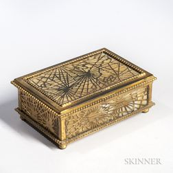 Tiffany Studios Pine Needle Box