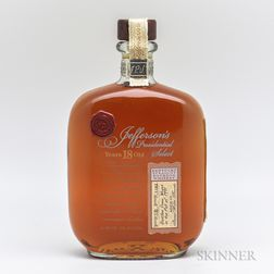 Jeffersons Presidential Select 18 Years Old 1991, 1 750ml bottle