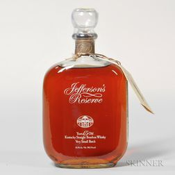 Jeffersons Reserve 15 Years Old, 1 750ml bottle