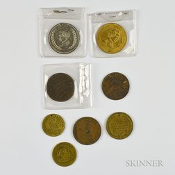 Eight American Tokens