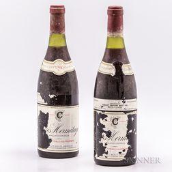 (SCA) Cave des Clairmonts Crozes Hermitage 1980, 2 bottles
