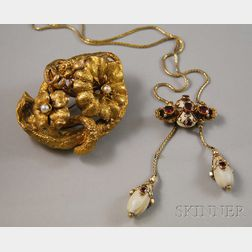 Two Antique Jewelry Items