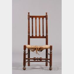 Maple Turned Bannister-back Side Chair