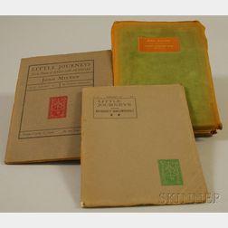 Little Journeys  , by Elbert Hubbard, Three Volumes: