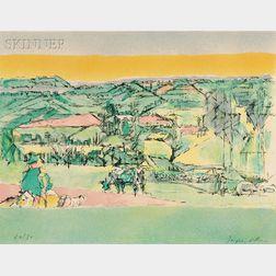 Jacques Villon (French, 1875-1963)      Paysage