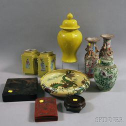 Group of Asian Decorative Accessories