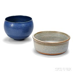 Saxbo Pottery Cup and William Wyman (1922-1980) Bowl