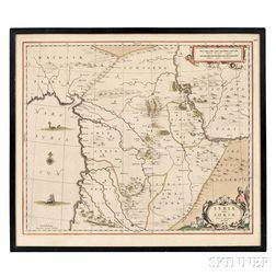 Syria. Johannes Jansson (1588-1664) Syriae Sive Soriae Nova et Accurata descriptio.