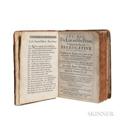 Rutherford, Samuel (1600?-1661) Lex, Rex: the Law and the Prince.