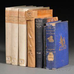 Illustrated Books, Seven Volumes: