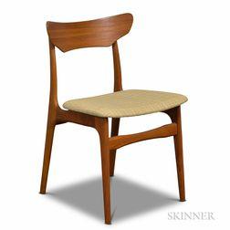 Danish Modern Teak Side Chair