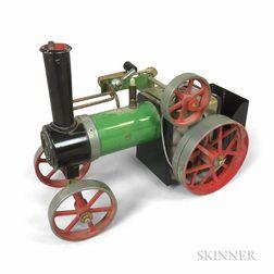 "Modern Steel ""Mamod TE1A"" Toy Steam Engine.     Estimate $100-150"
