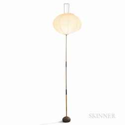 Isamu Noguchi (American, 1904-1988) for Akari Bamboo Floor Lamp