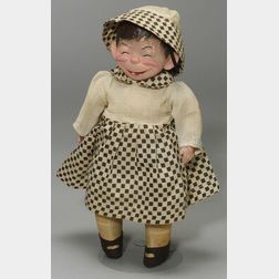 "Four Composition Dolls including Gene Carr ""Lizzie,"""