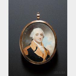 Portrait Miniature of George Washington