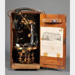 Brass Surveyor's Transit by Buff & Buff Manufacturing Company