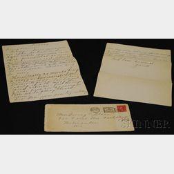 Jeanette MacDonald Handwritten Letter to Irving Stone