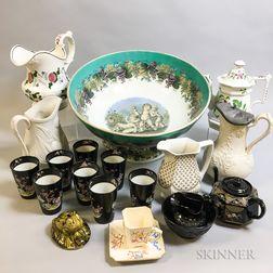Twenty English Ceramic Items