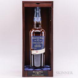 Heaven Hill 27 Years Old, 1 750ml bottle (pc)