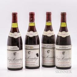 Clairmont Crozes Hermitage 1980, 4 bottles