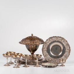 Group of Shreve & Co. Sterling Silver Tableware