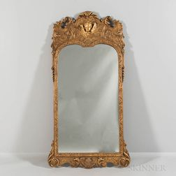 Georgian Carved Giltwood Mirror