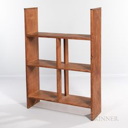 Shaker Three-tier Pine Shelf