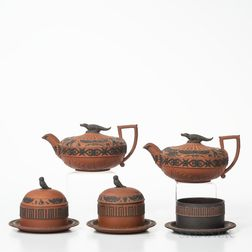 Five Wedgwood Egyptian Items