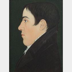Attributed to Benjamin Greenleaf (Massachusetts, 1786-1864)    Portrait of Timothy Brainard Egerton.