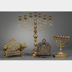 Group of Judaic Lamps
