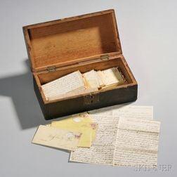 Box of Civil War Letters from Sergeant John W. Piper, 4th Massachusetts Heavy Artillery