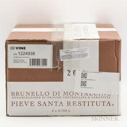 Pieve Santa Restituta (Gaja) Brunello di Montalcino 2011, 6 bottles (oc)