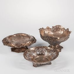 Three Pieces of American Silver Hollowware
