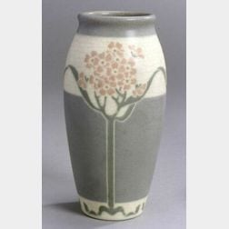 Rookwood Arts and Crafts Pottery Vellum Vase